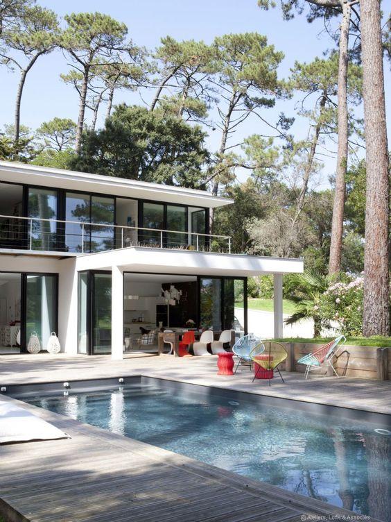 Une maison d architecte le r ve accessible gr ce cr a for Architecture petite villa