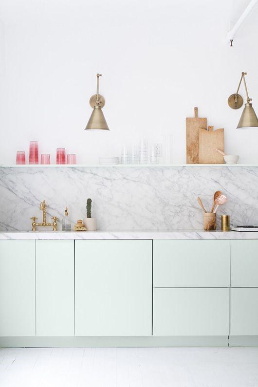 Tendances d co pour la cuisine en 2018 cr a concept - Onderwerp deco design keuken ...