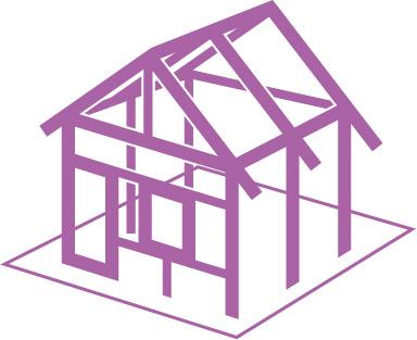 Les assurances crea concept pendant la construction