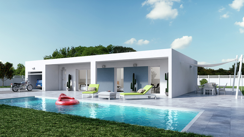 Cr a concept d voile sa nouvelle gamme de maisons for Nouvelles dispositions de maison