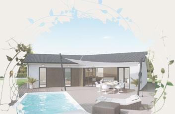 Nos conseils pour choisir le plan de votre nouvelle maison for Interieur maison en v