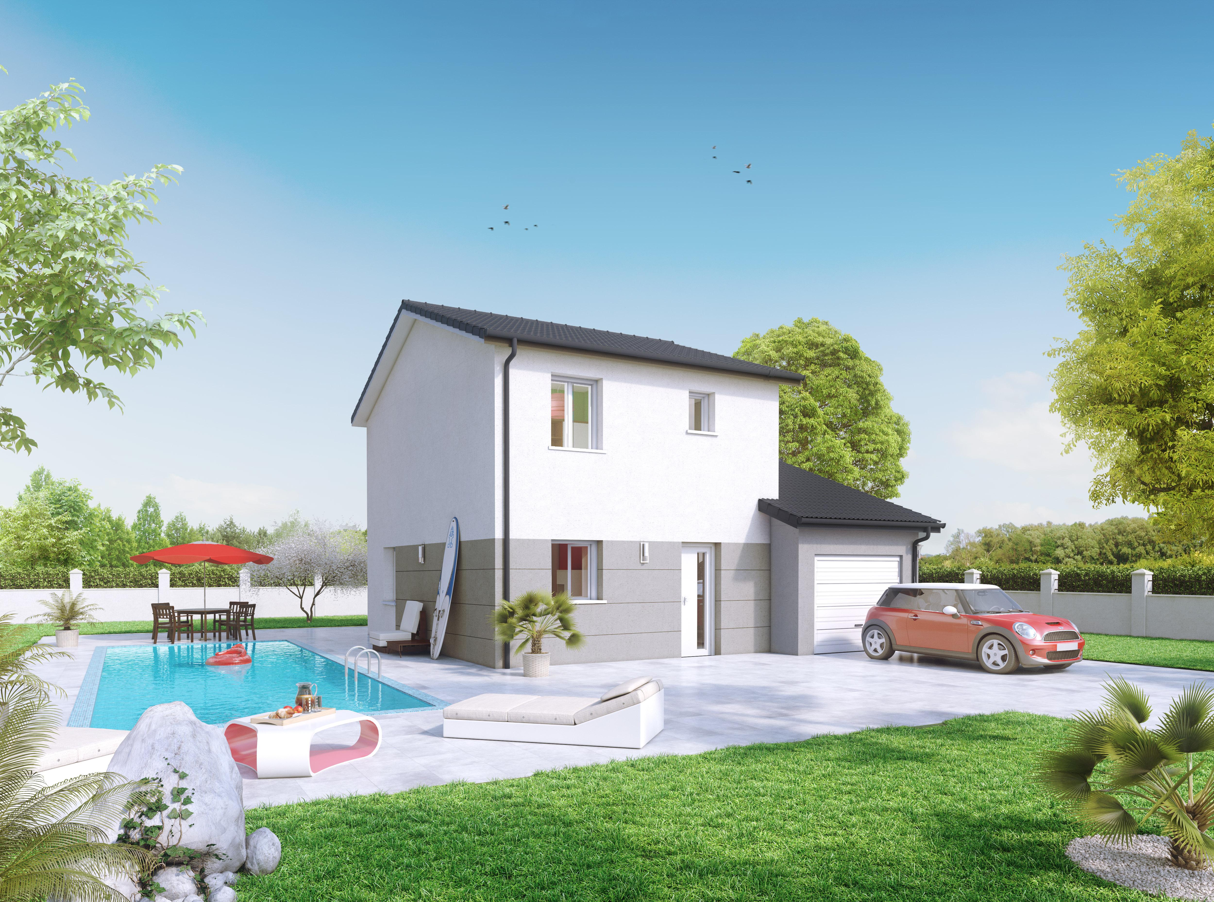Annonce vente maison andr zieux bouth on 42160 85 m for Une autre maison andrezieux