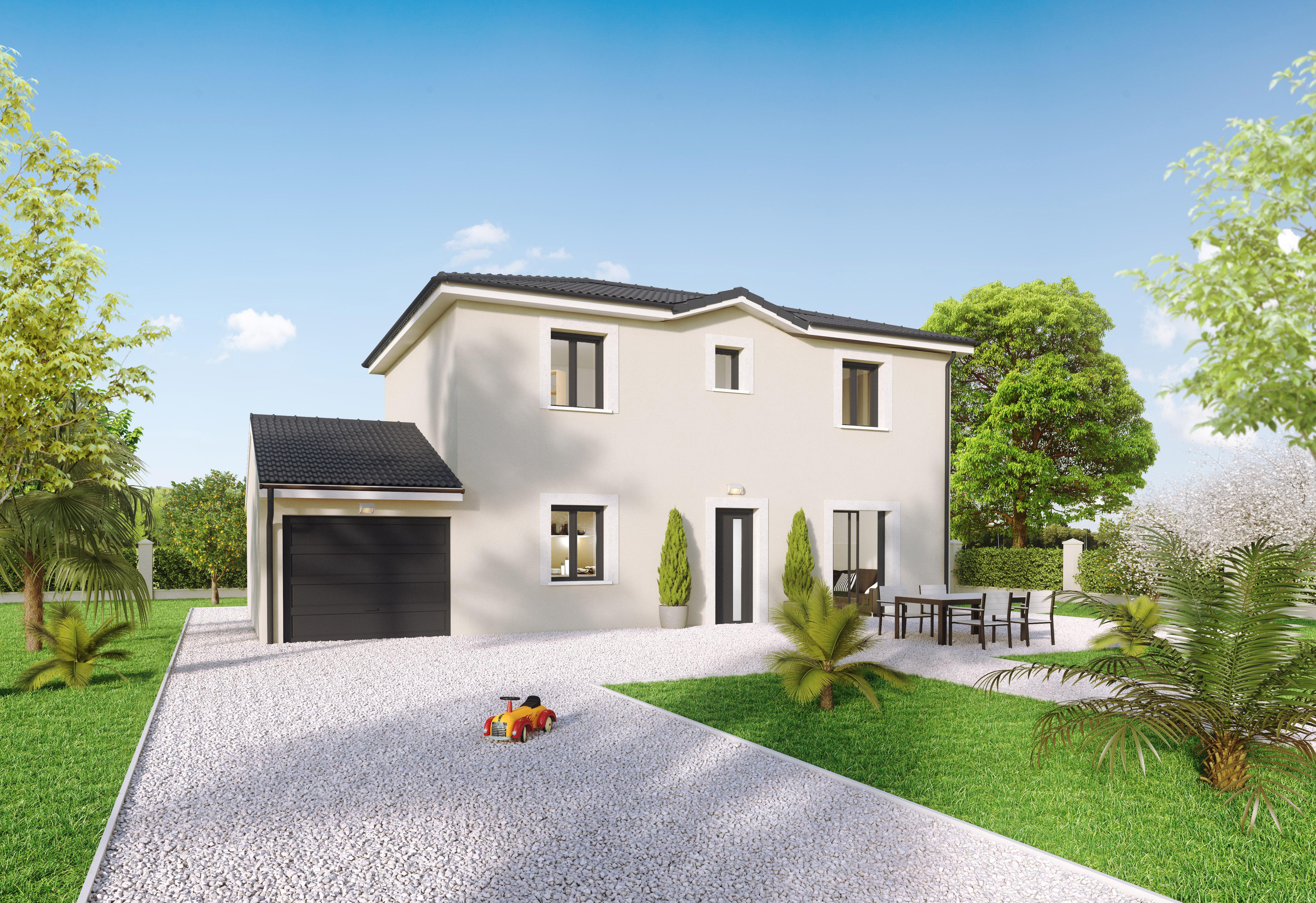 Annonce vente maison pont d 39 ain 01160 89 m 178 100 for Garage ms auto pont d ain