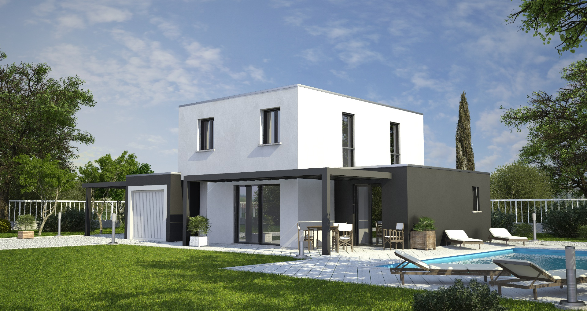 Annonce vente maison meyzieu 69330 105 m 460 000 for Prix m2 meyzieu