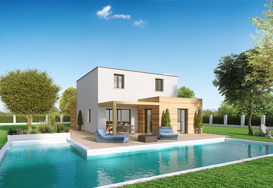 Annonce vente maison le breuil 71670 83 m 164 415 for Maison moderne 83