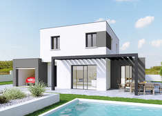 maison personnalisable creathena contemporain crea concept