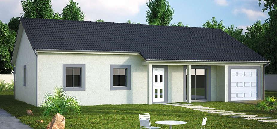 plan de maison 3d personnalisables mod le de maison cr anat ardoise. Black Bedroom Furniture Sets. Home Design Ideas