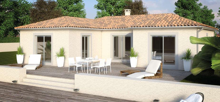 plan de maison 3d personnalisables mod le de maison cr astrale soleil. Black Bedroom Furniture Sets. Home Design Ideas