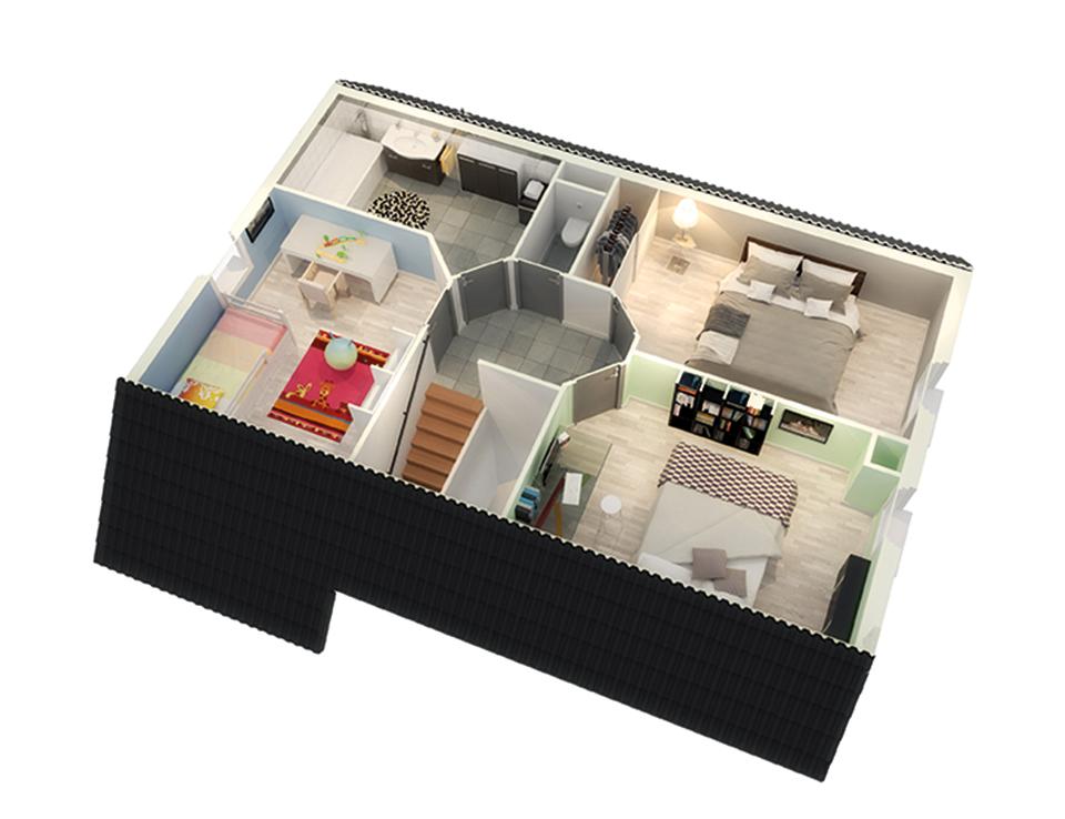 maison personnalisable creadonis etage crea concept
