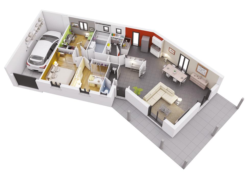 maison personnalisable creaflores crea concept