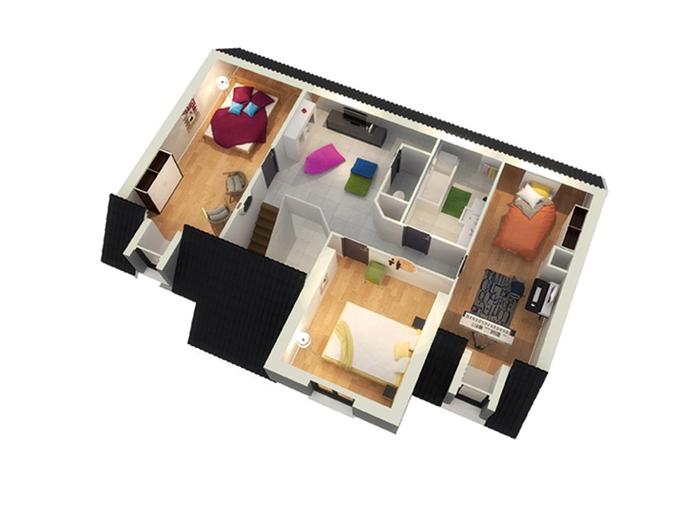 maison personnalisable crealtesse etage crea concept