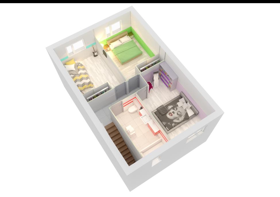 maison personnalisable creanoa etage crea concept
