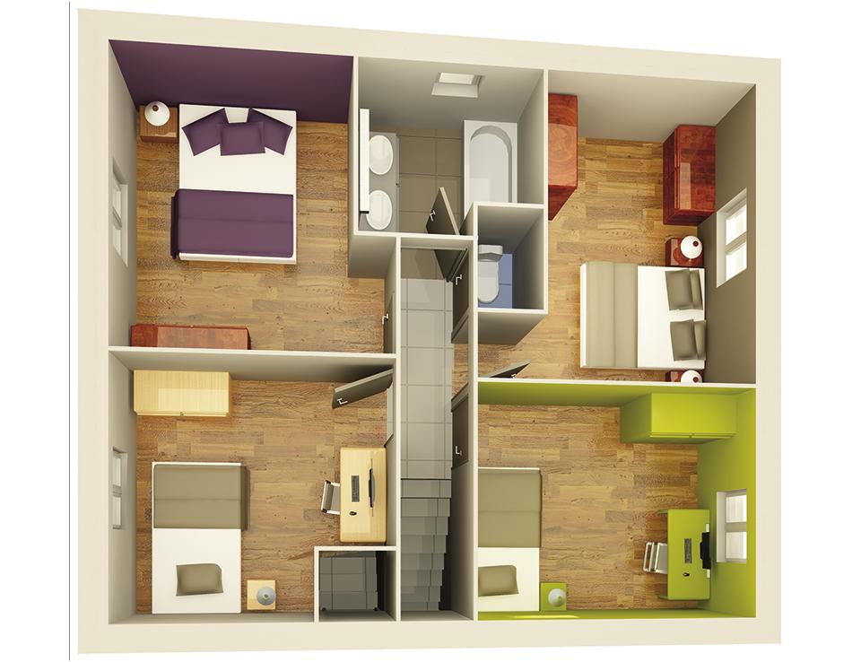 plan maison neuve mod le cr apolis soleil cr a concept. Black Bedroom Furniture Sets. Home Design Ideas