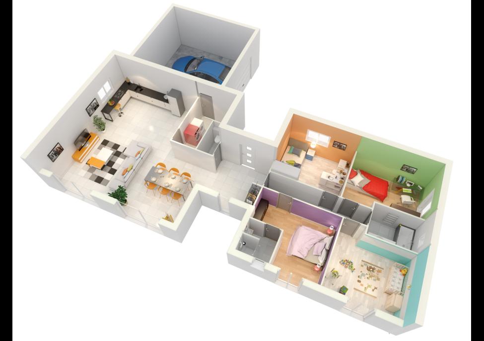 maison personnalisable crearena crea concept