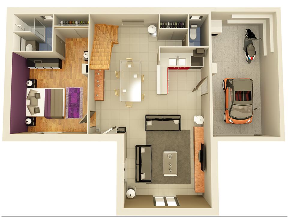 maison personnalisable pdv crealliance v2 rdc crea concept