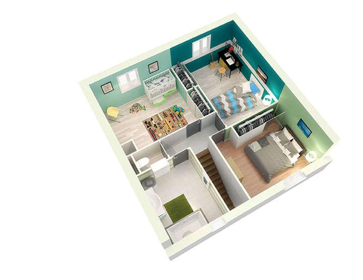 maison personnalisable pdv creamust etage mdcrea concept copie