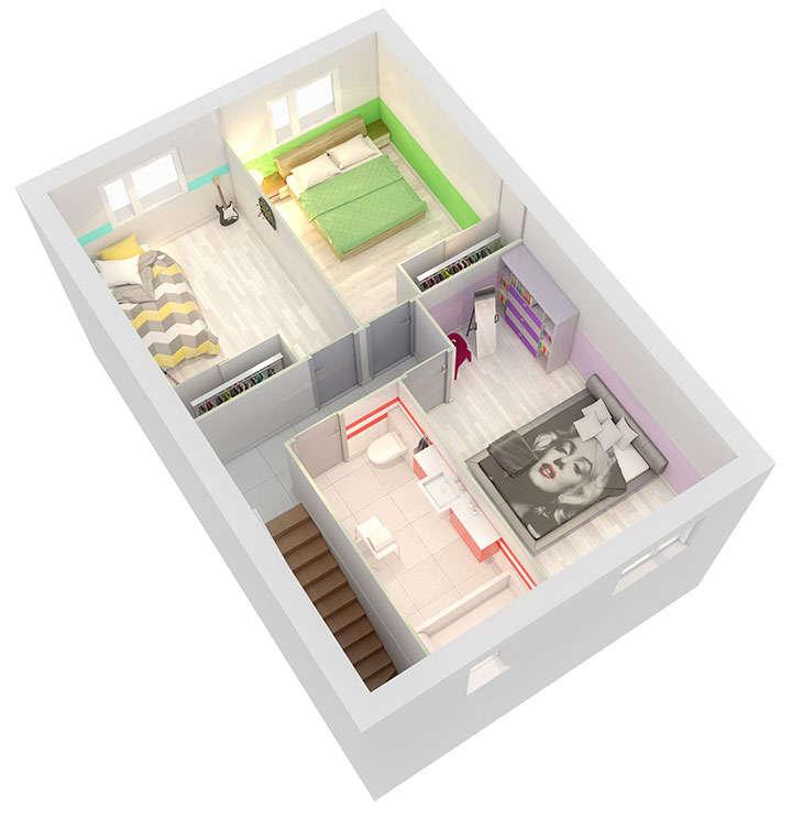 maison personnalisable pdv creanoa etage mdcrea concept