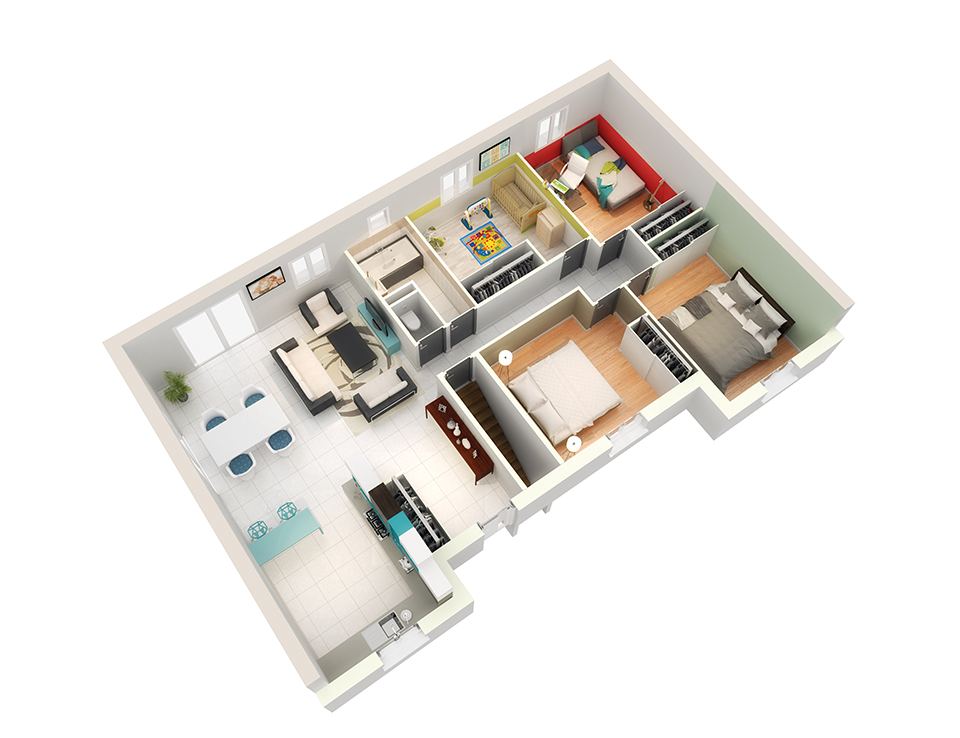 maison personnalisable pdv creattitude rdcv3crea concept