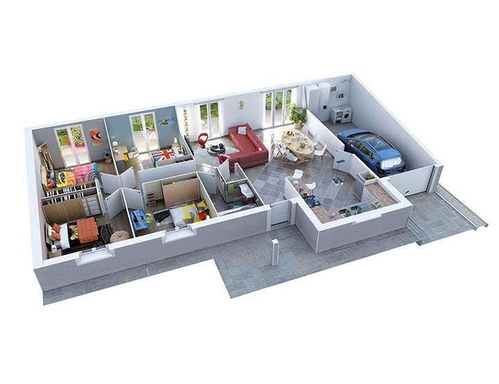 maison personnalisable pdv creazen rdc mdcrea concept 2