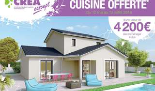 Votre cuisine tout équipée livrée avec votre maison !