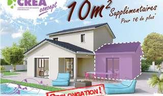 Encore 1 mois pour gagner 10 m² supplémentaires dans votre future maison !