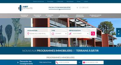 ast groupe site