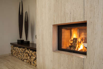 cheminee poele design interieur