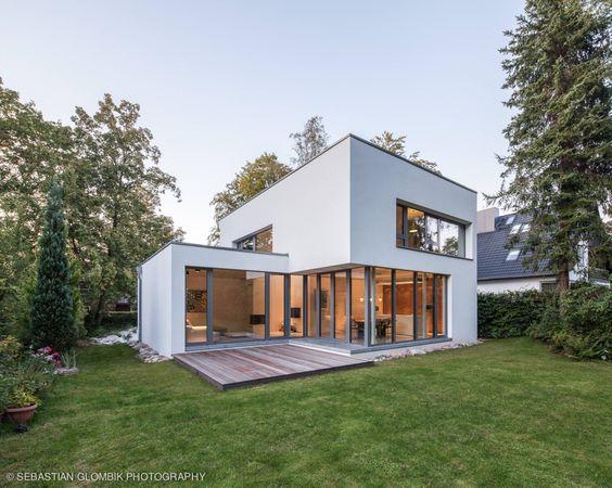 Toit terrasse pour une maison contemporaine