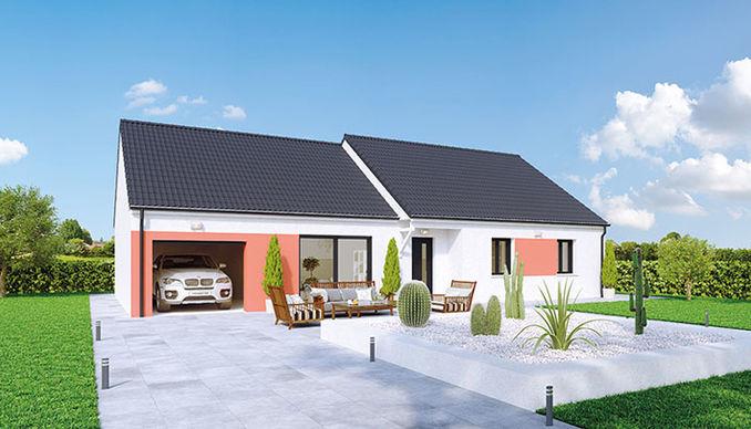 Modele maison plain-pied Crealizee