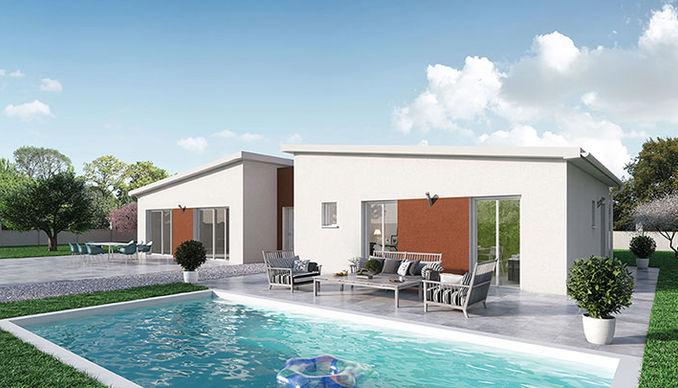Zoom Sur Les Modeles De Maisons De Plain Pied Crea Concept