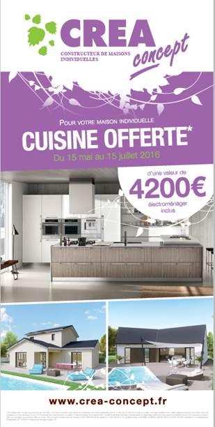 Pour Votre Maison Individuelle Cuisine Offerte Crea Concept Lyon