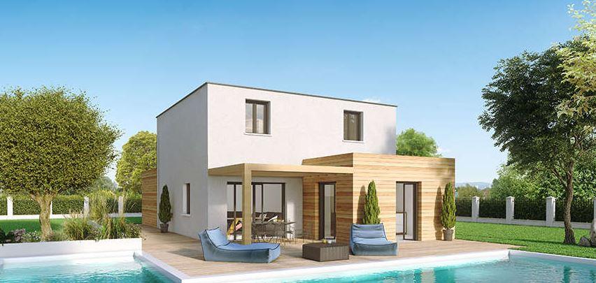 maison contemporaine à étage Créaryles - Créa Concept