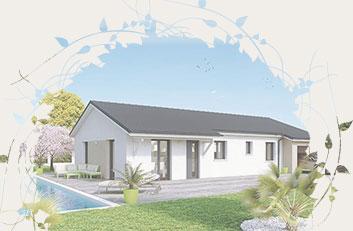 maison de plain-pied Créadèle - Créa Concept
