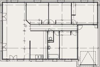 maison à plan rectangulaire Créadèle - Créa Concept