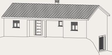 plan de maison sur sous-sol Créa Concept