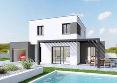 maison personnalisable creathena contemporain crea concept 2