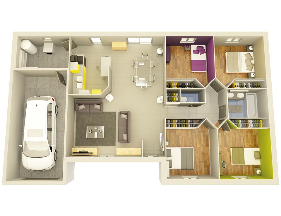 maison personnalisable crealine 4 crea concept