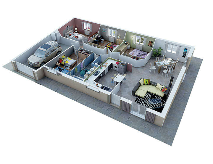 maison personnalisable pdv creadele mdcrea concept