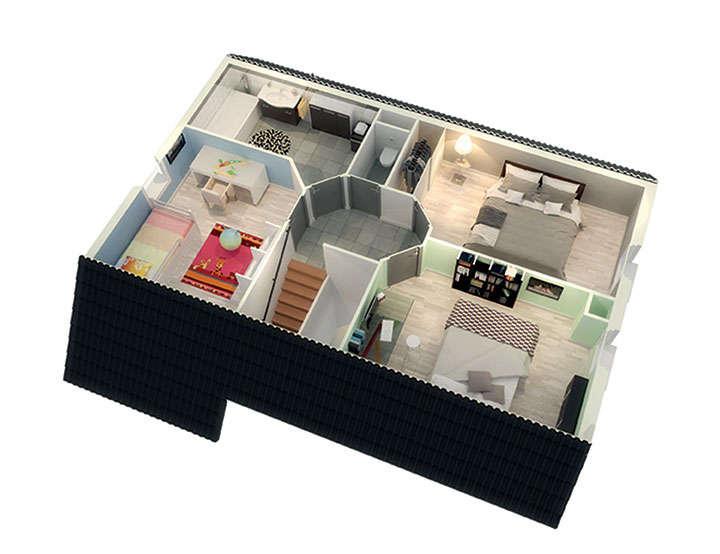 maison personnalisable pdv creadonis etage mdcrea concept copie