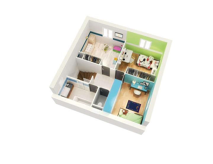 maison personnalisable pdv crealbane etage mdcrea concept