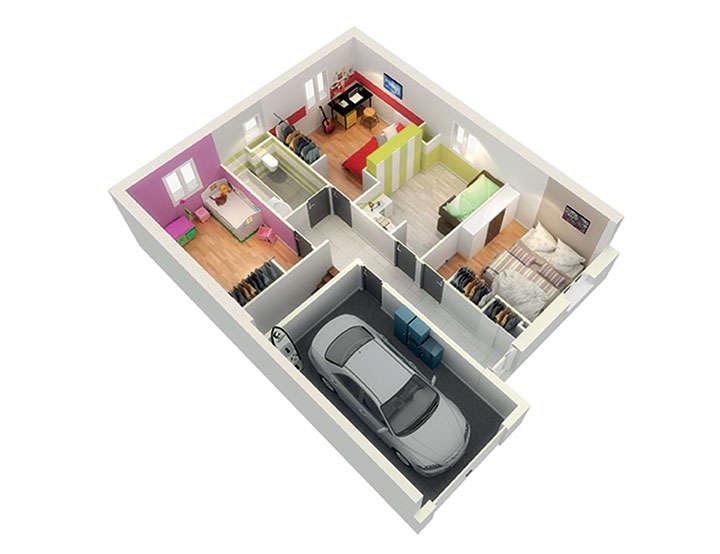 maison personnalisable pdv crealice etage mdcrea concept copie