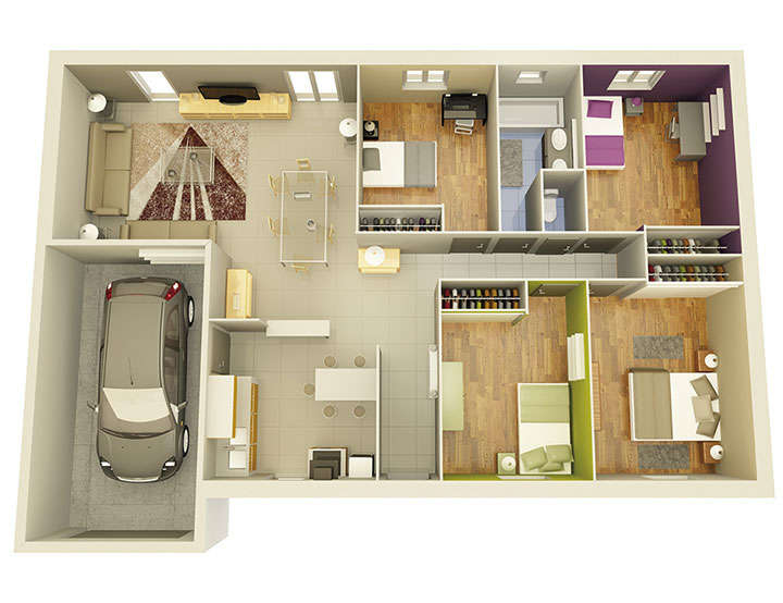 maison personnalisable pdv crealight 4 mdcrea concept