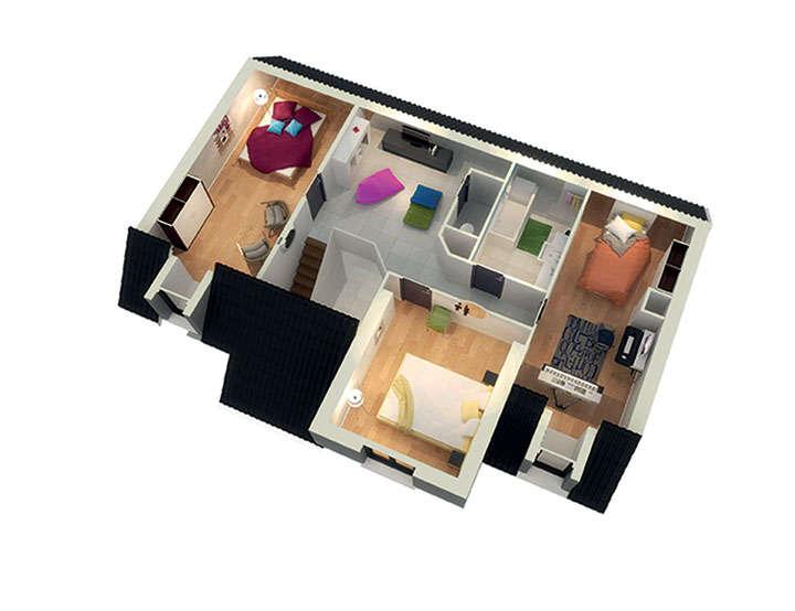 maison personnalisable pdv crealtesse etage mdcrea concept copie