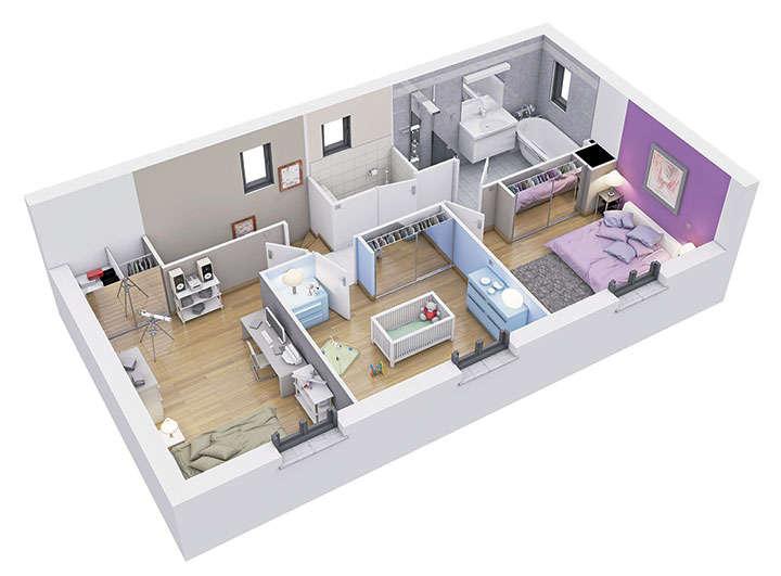 maison personnalisable pdv creanoe etage mdcrea concept