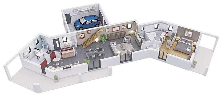 maison personnalisable pdv creanoe rdc mdcrea concept 1
