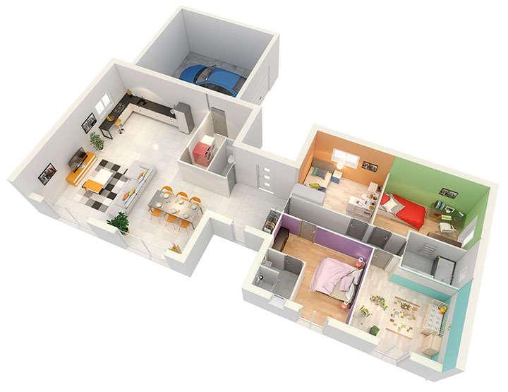 maison personnalisable pdv crearena rdc mdcrea concept copie