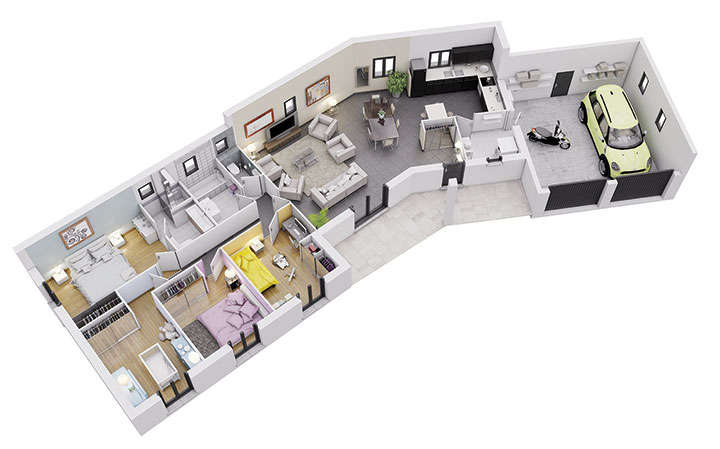 maison personnalisable pdv crearia rdc mdcrea concept