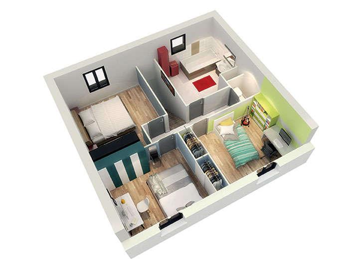 maison personnalisable pdv crearyles etage mdcrea concept