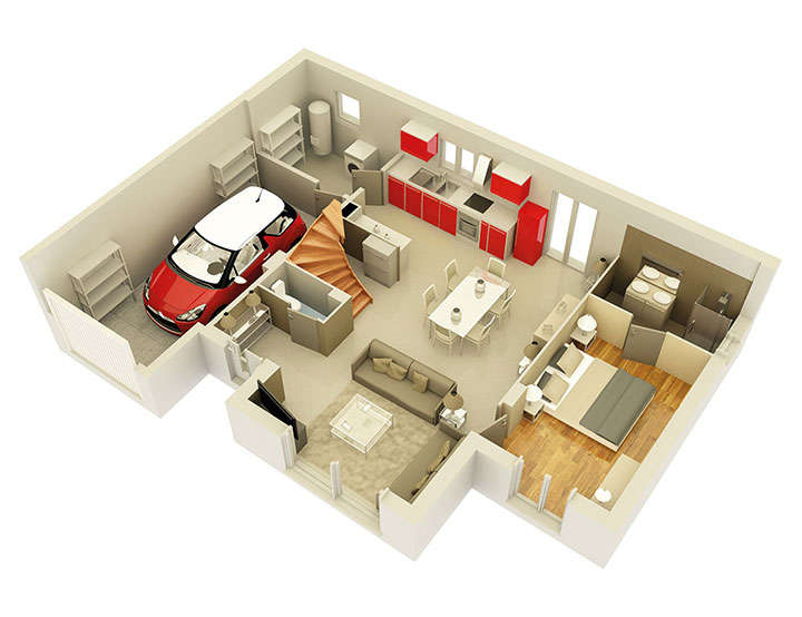 maison personnalisable pdv creathena rdc mdcrea concept