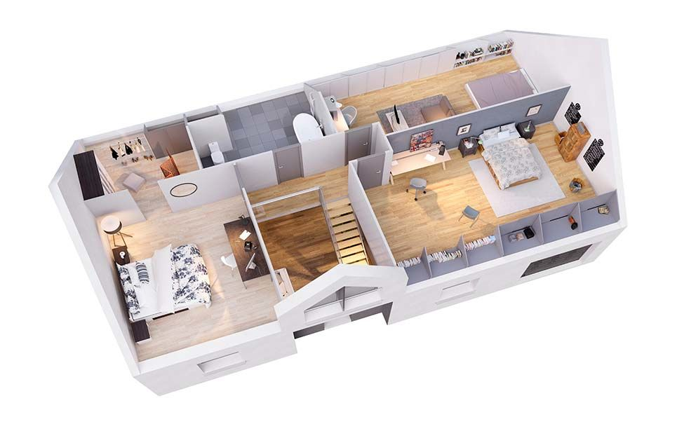 maison personnalisable pdv cr amarine etage